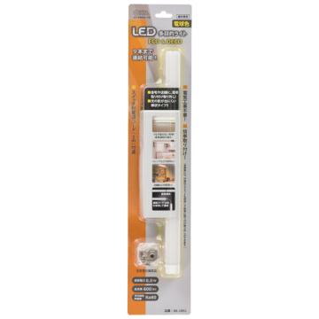 LED多目的ライト「ECO&DECO」30cmタイプ 電源コード付 電球色 [品番]06-1851