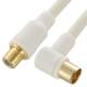 TV接続ケーブル 4C 4K8K対応 L-延長型 2m [品番]06-1996