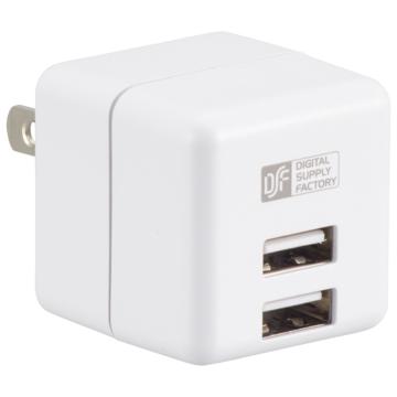 ACアダプター USB電源タップ2ポート [品番]01-3784