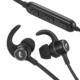 AudioComm ワイヤレスネックバンドイヤホン ブラック [品番]03-1722