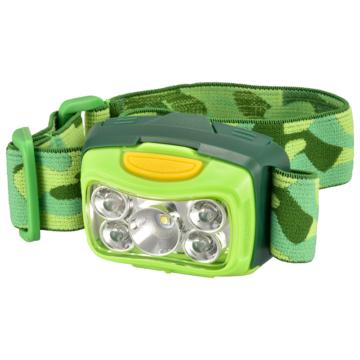 LEDヘッドライト 300ルーメン グリーン [品番]08-0973