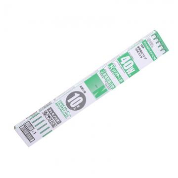 直管蛍光ランプ ラピッドスタート形 3波長タイプ 40W 昼白色 10本パック [品番]04-0838