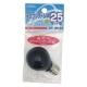 カラーミニクリプトン球 25形相当 S-35 E17 グリーン [品番]04-6034