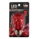 LED電球 装飾用 サイン球 E26 レッド [品番]07-6511