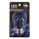 LED電球 装飾用 サイン球 E26 ブルー [品番]07-6512