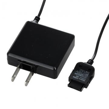 携帯電話用AC充電器 docomo FOMA/SoftBank3G専用 黒 [品番]03-3154