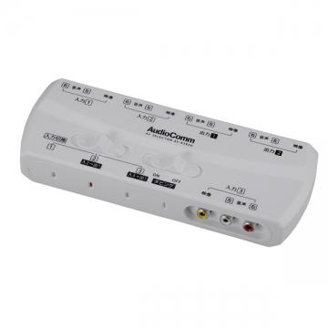AudioComm AVセレクター3入力 2出力 [品番]03-6186
