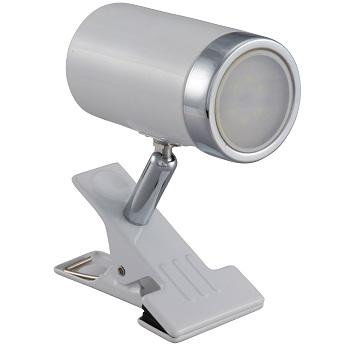 LEDクリップライト 4.2W ホワイト 昼白色 [品番]06-1448