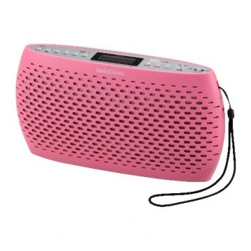 AudioComm ポータブルCD/MP3/ラジオ ピンク [品番]07-3881