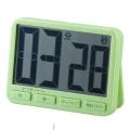 時計付きデジタルタイマー BIG グリーン [品番]07-4747