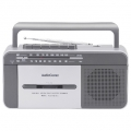AudioComm モノラルラジカセ M407K [品番]07-6407