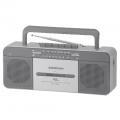 AudioComm USBステレオラジカセ U500K [品番]07-6419