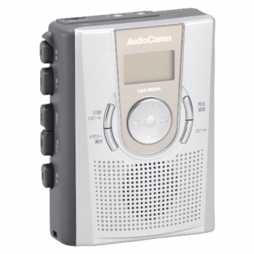 メモリー機能付き カセットレコーダー R501E [品番]07-7619