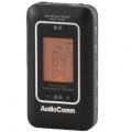 AudioComm DSP搭載 AM/FMポケットラジオ ブラック [品番]07-7962