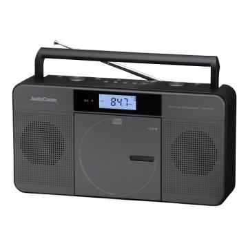 AudioComm ワンセグCDラジオ T822 [品番]07-8222