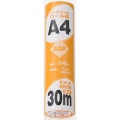 ファクシミリ用感熱ロール紙 A4 30m [品番]01-0665