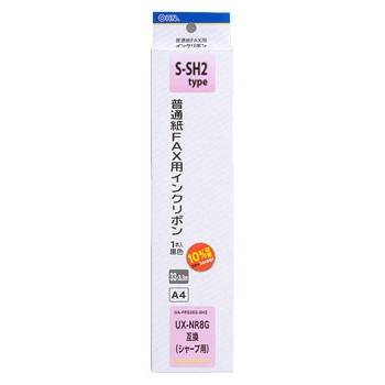 ファクス用インクリボン S-SH2タイプ 1本入 [品番]01-0683