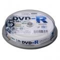 DVDーR 16倍速対応 データ用 10枚 スピンドル入 [品番]01-0747
