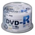 DVDーR 16倍速対応 データ用 50枚 スピンドル入リ [品番]01-0748