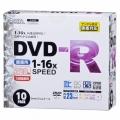 DVDーR 16倍速対応 録画用 10枚 スリムケース入リ [品番]01-0749