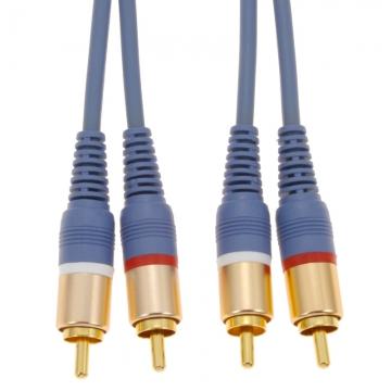 オーディオ接続コード ピンプラグ×2-ピンプラグ×2 3m [品番]01-2614