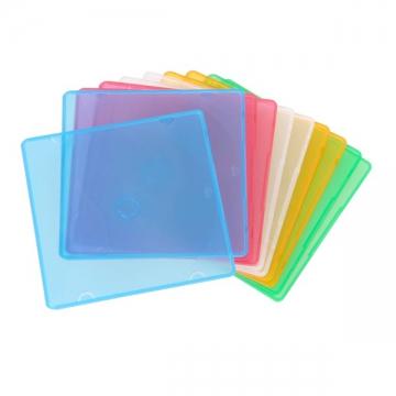 CD&DVDスリムケース 1枚収納 10パック [品番]01-3208
