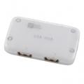 USBハブ 4ポート ホワイト [品番]01-3226
