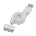 Dock対応 USB伸縮ケーブル [品番]01-3240