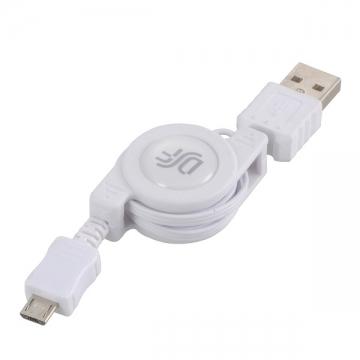 USB伸縮ケーブル スマートフォン用 [品番]01-3329