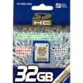 SDHCメモリーカード32GB [品番]01-3343