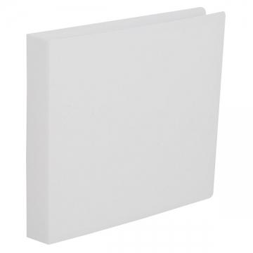 CD/DVDファイルケース 12枚収納 ホワイト [品番]01-3487