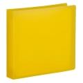 CD/DVDファイルケース 12枚収納 オレンジ [品番]01-3490