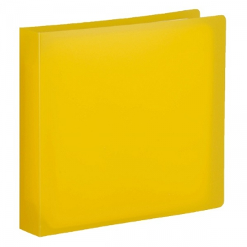 CD/DVDファイルケース オレンジ 12枚収納 [品番]01-3490