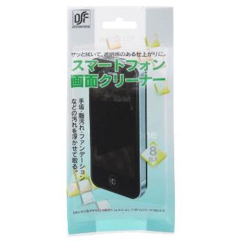 スマートフォン画面クリーナー 8包入 [品番]01-3500
