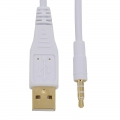 AudioComm iPod対応 USB接続ケーブル 1m [品番]01-7008