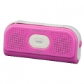 Bluetooth 防水スピーカー ピンク [品番]03-2236