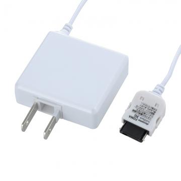 携帯電話用AC充電器 docomo FOMA/SoftBank3G専用 白 [品番]03-3155