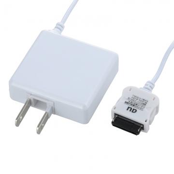 携帯電話用AC充電器 au専用 白 [品番]03-3158