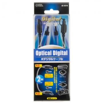 光デジタルケーブル 2m [品番]05-0216