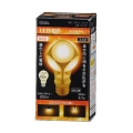 LED電球 E26 60形相当 電球色 [品番]06-1607