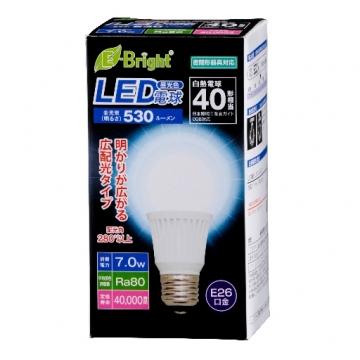 LED電球 E26 40形相当 昼光色 [品番]06-2883