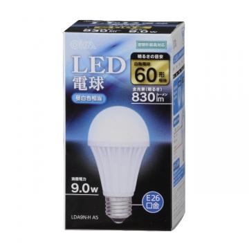 LED電球 E26 60形相当 昼白色 [品番]06-3094