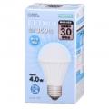LED電球 E26 30形相当 昼白色 [品番]06-3134