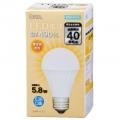 LED電球 E26 40形相当 電球色 [品番]06-3135