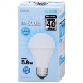 LED電球 E26 40形相当 昼白色 [品番]06-3136