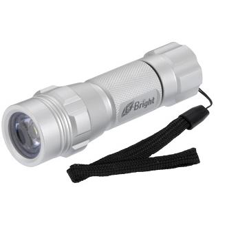 1.0W LEDフルアルミタフボディ シルバー [品番]07-1364