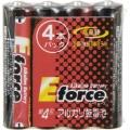 アルカリ乾電池 E force 単4形×4本パック [品番]07-2934