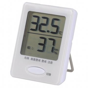 健康サポート機能付き デジタル温湿度計 [品番]07-4173