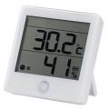 健康サポート機能付きデジタル温湿度計 [品番]07-4198