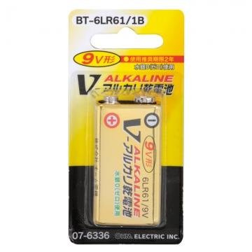 アルカリ乾電池 Vシリーズ 9V形 [品番]07-6336